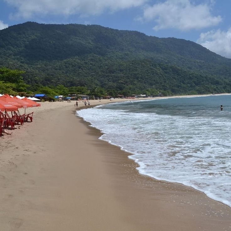 Praia de Fora em Trindade #mydestinationanywhere