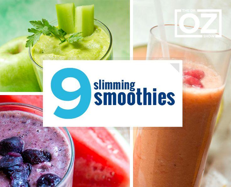 9 Slimming Smoothies