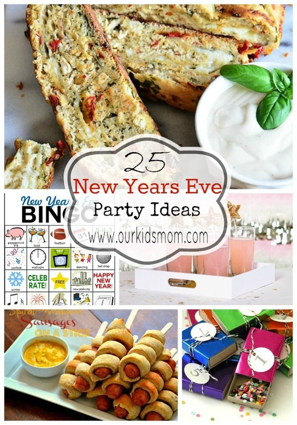 25 New Years Eve Party Ideas   Décor, Activites and Food