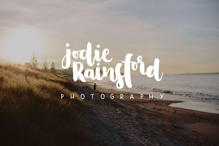 Jodie Rainsford - Hand Lettered Logo - Brave + Brogue, Wanaka