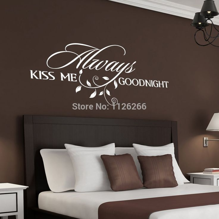 Best Sayings For Wall Above Bed Images On Pinterest Bespoke - Removable vinyl wall decals for home decor