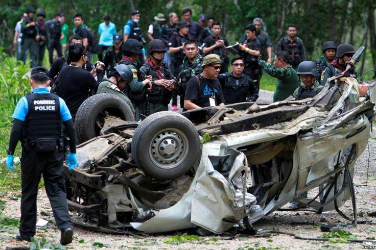 Serangan Bom dan Senjata Api di Thailand 3 Polisi Tewas - VOA Indonesia
