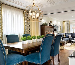 7 best Dining Room Styling images on Pinterest | Blue dining rooms ...