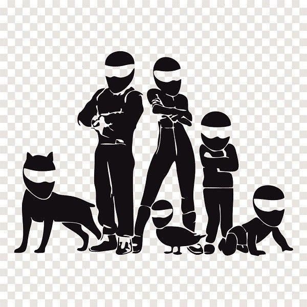 Best Cartoon Images On Pinterest Animated Cartoons Art - Family car sticker decalsbest silhouette for the car images on pinterest family car