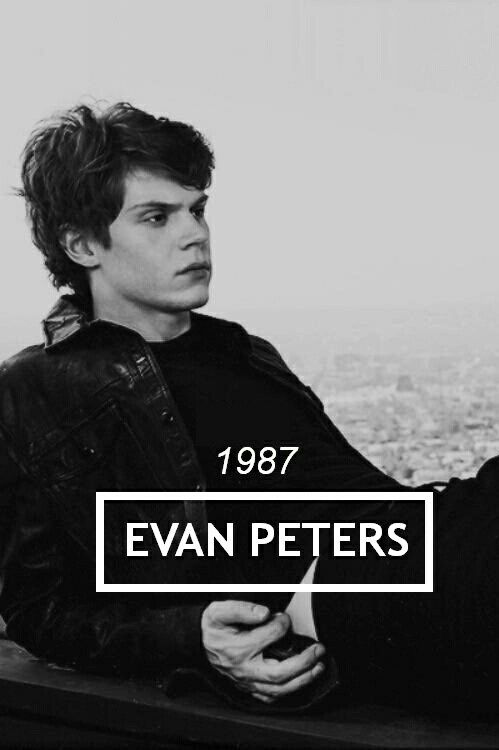 ahs, evan peters, happy birthday evan