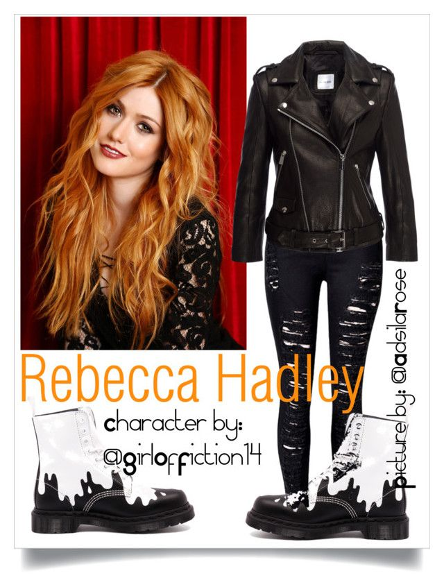 009: Rebecca Hadley by adsilarose on Polyvore featuring polyvore fashion style Anine Bing Dr. Martens clothing