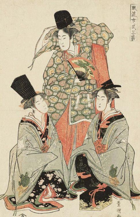 Furyû joshiki sanban. Ukiyo-e woodblock print. 1810's, Japan. ArtistUtagawa Toyokuni I