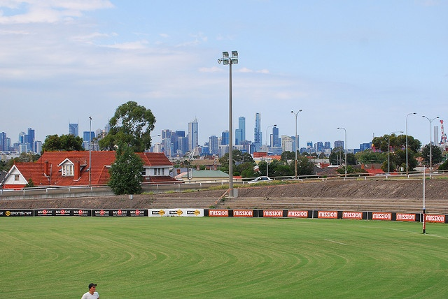 The Western/Whitten Oval, Footscray. Home to my beloved Doggies. I love this ground. :D