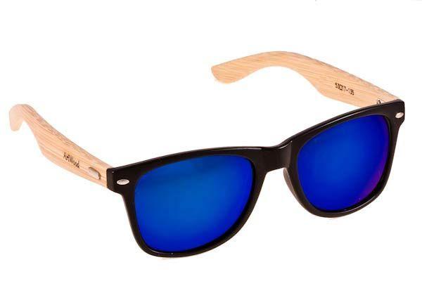 Γυαλια Ηλιου  Artwood Milano Bambooline 2  Black Blue Mirror Polarized - bamboo temples Τιμή: 100,00 € #eyeshopgr #eyeshopgrartwood @artwoodmilano