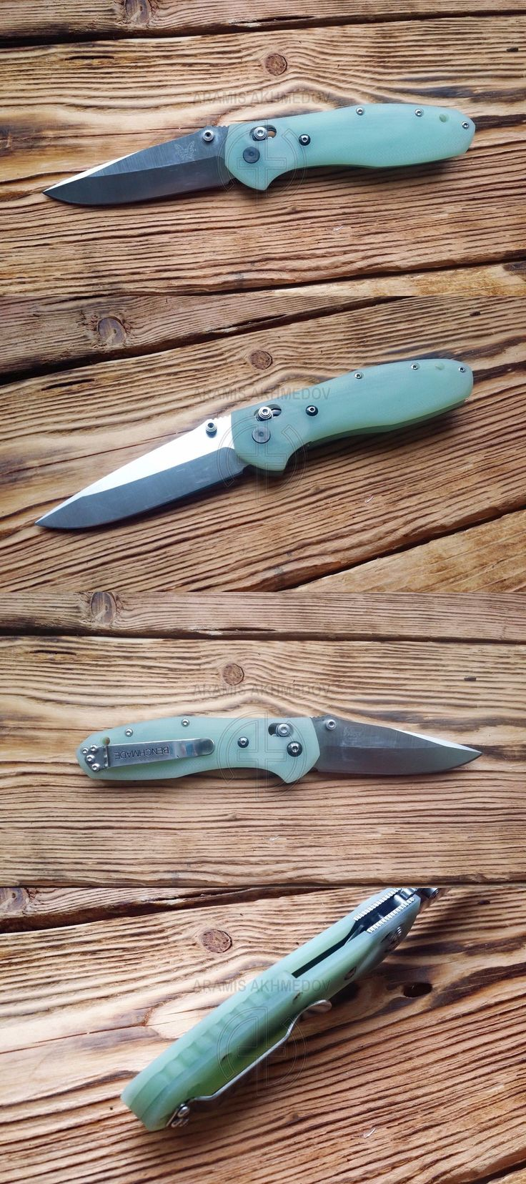 Other Hunting Knives and Tools 7306: Benchmade Griptilian, Custom Scales, Aramis Design, Model Art,(Sold Only Scales) -> BUY IT NOW ONLY: $79 on eBay!