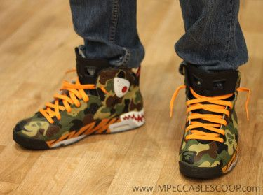 Air Jordan 6 BAPE Customs