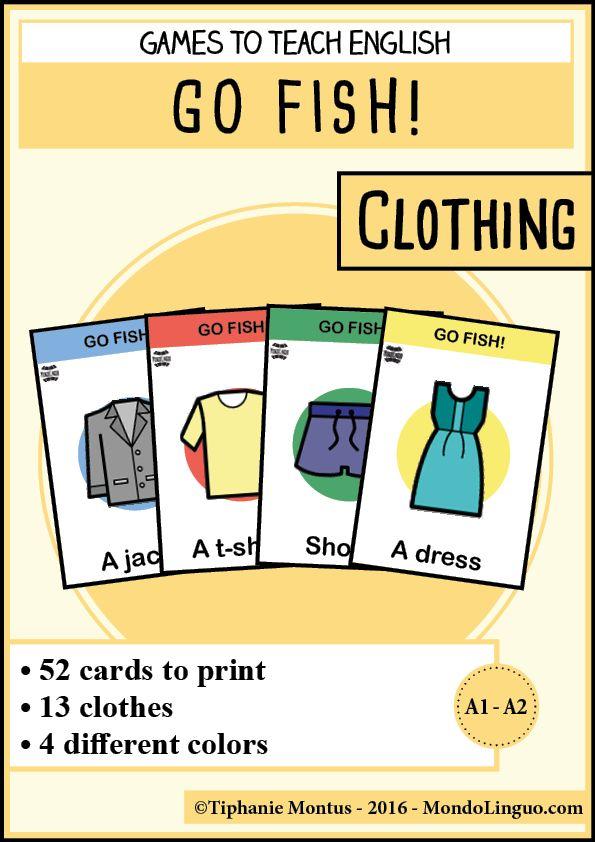 GF - Clothing | Mondolinguo - Français