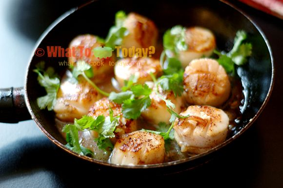 how to make batter for fried scallops