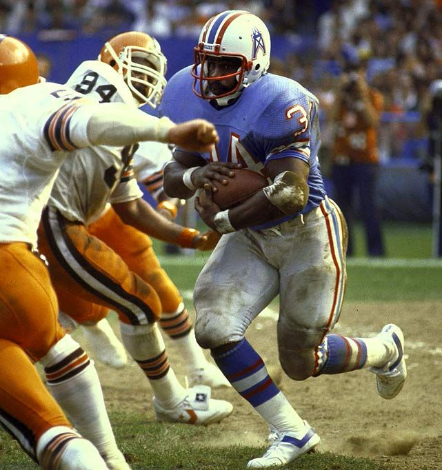 Earl Campbell -- The University of Texas, Houston Oilers