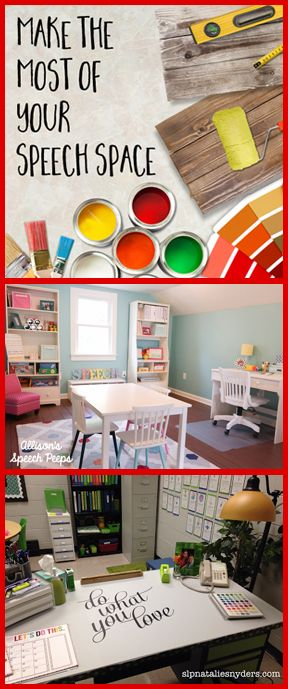 Do you love watching DIY Makeover shows? Watch as SLPs just like you transform their Speech Rooms from drab into fab!