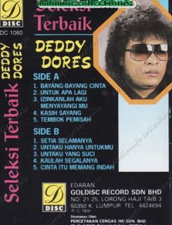 Lagu Nostalgia Deddy Dores Karya Terbaik Best of the Best Full Album Mp3