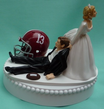 alabama football wedding cake toppers 17 best images about alabama wedding on 10645