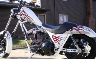 2005 FXR Frisco Chopper: I have over 30k invested in the 2005 FXR Frisco custom chopper for sale that you see in the pictures.  This cool, custom motorcycle looks and rides like