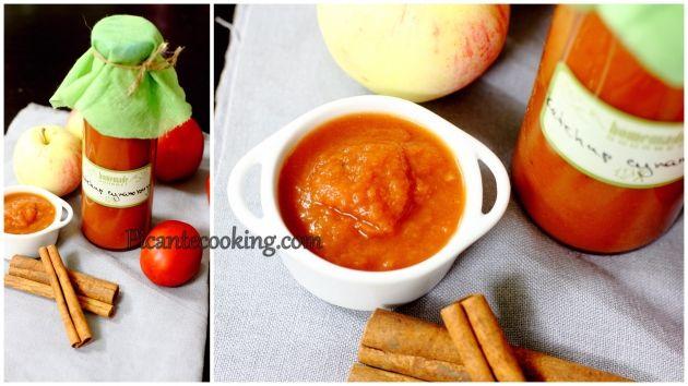 Домашний кетчуп с яблоками и корицей