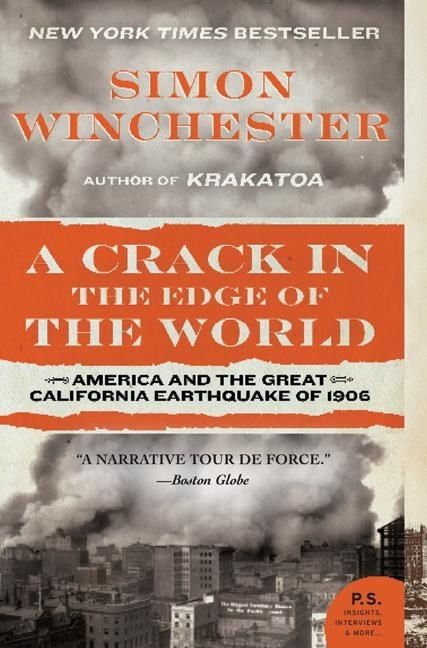 A Crack in the Edge of the World by Simon Winchester | 14 Nonfiction Books Your Book Club Needs To Read Now