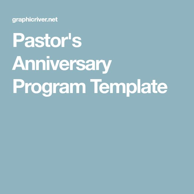 The 25+ best Pastor anniversary ideas on Pinterest Pastor - event program template