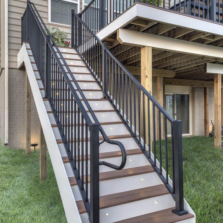 Best Ada Handrail Straight Rail 96 Outoor Sunroom 400 x 300