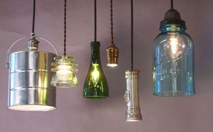 Recycled Lighting DIY