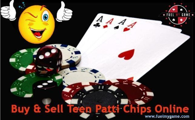 Buy Teen PattiChips Online by fixing genuine deals with real life dealers. Winning isalways on your side in Teen Patti game