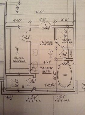 Master Bath layout - Houzz