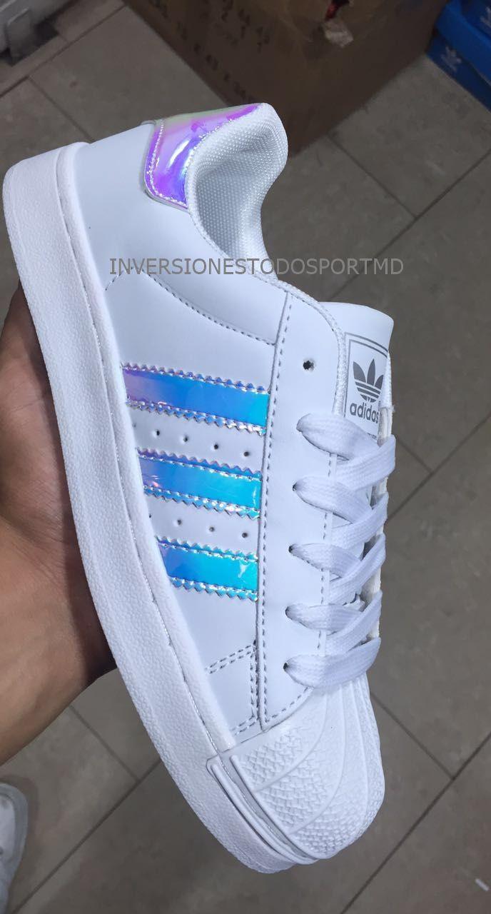 Adidas Super Star Tornasol Reflectivas Original - Bs. 49.999,00 en Mercado Libre