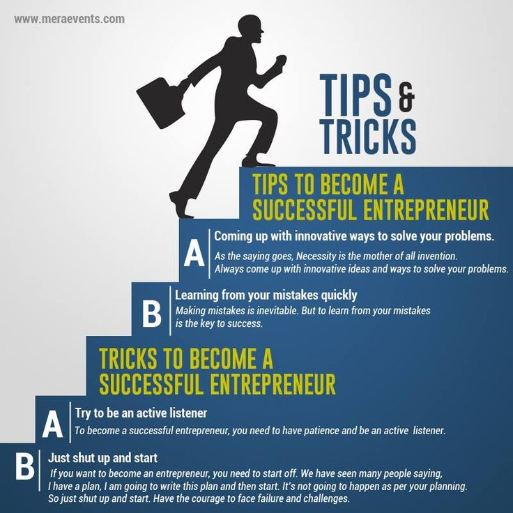 Tips & Tricks to become a Successful Entreprenuer  #Entreprenuer #MeraEvents