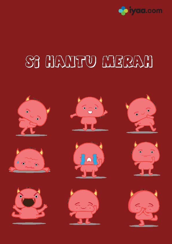 Grrrr....Hai Si Hantu Merah mau berkenalan di chatingan telegram..yuk download sticker telegram si hantu merah..!! #stickergratis #stickertelegram #telegram #stikertelegram