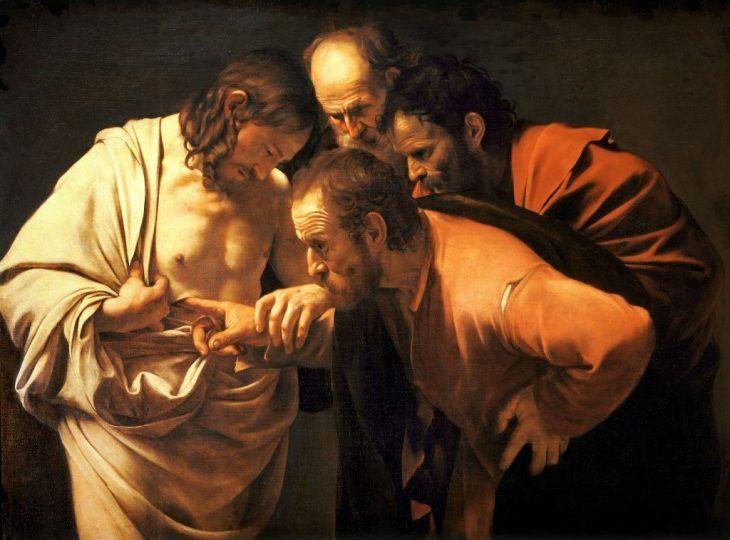 Resultado de imagen de caravaggio 1602