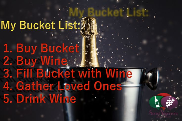 Bucket List of a Wine Lover