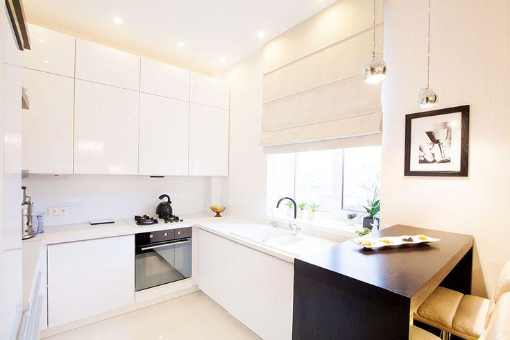 Фото из проекта: Небольшая квартира для молодой девушки