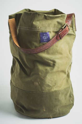 Res Ipsa Vintage Military Canvas Tote: