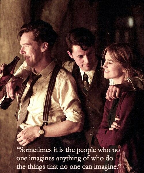 The Imitation Game<<< if this movie does not receive every oscar it's been nominated for I will throw a b**** fit and send a strongly worded letter because this movie was to amazing not to get all the awards