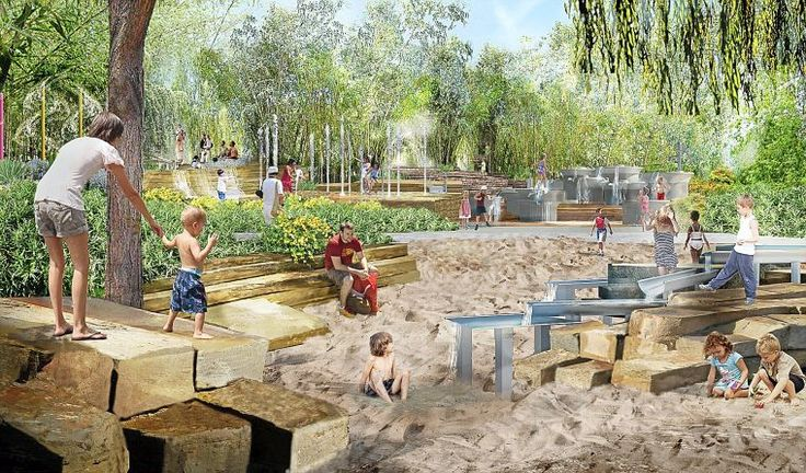 Tulsa's Gathering Place park donations total over $100 million....A projected plan video for a new city park!