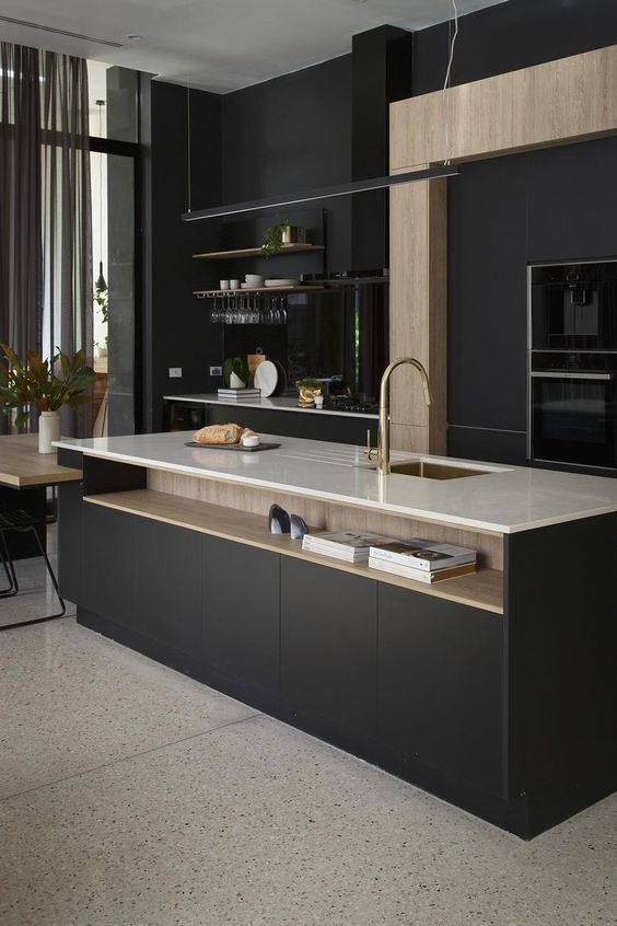 25 best ideas about black kitchen island on pinterest for Cuisine kungsbacka ikea