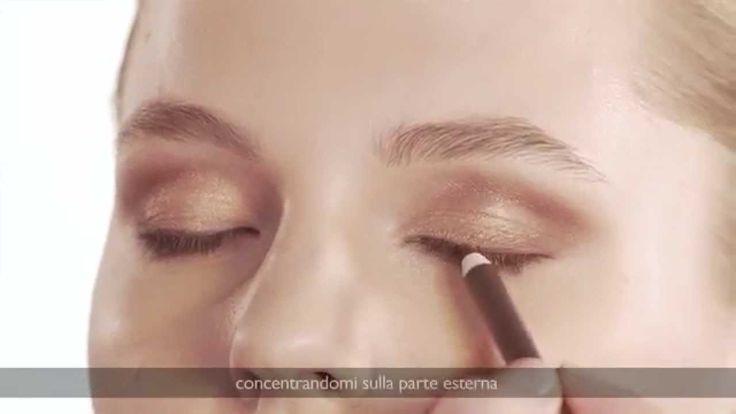 #tutorial #makeup: le nuance perfette per gli #occhi #azzurri by #collistar
