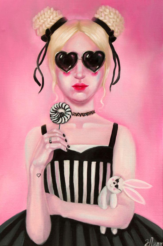#illustration #popsurrealism #fantasy #art #pink