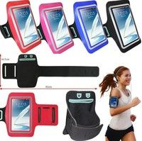 Wish | Armband Case for Running, Walking, Jogging, Gym and Workout - Sports Case with Key Holder - Touchscreen Compatible, Clear Cover, Sweat-proof  for iPhone 6 Plus 5s 5c 4s Samsung Galaxy S6 S6 Edge S5 S4 S3 Note 4 3