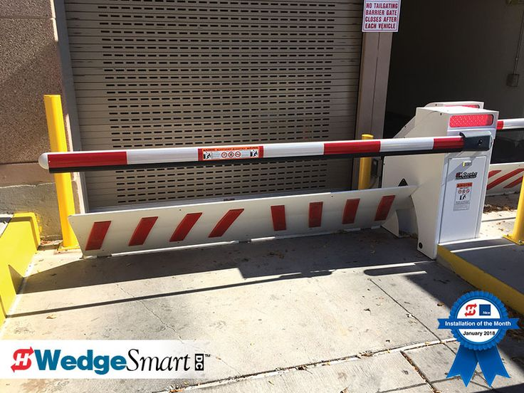 Announcing the Installation Photo of the Month: WedgeSmart DC Installed by Gate-It  WedgeSmart DC is HySecurity's innovative electromechanical parking and revenue control wedge with barrier arm operator. Protect your vehicles - Crash-engineered FS30 stops a full size sedan traveling at 30 mph. Learn more about WedgeSmart DC:  https://www.hysecurity.com/operators-accessories/wedge-barrier-operators/wedgesmart-dc/ . .   . #HySecurity #photoofthemonth #photooftheday #instagood #gateoperator…
