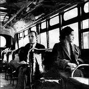 Rosa Parks, for the symbol she became; the catalyst too for the start of my work in www.The100.me