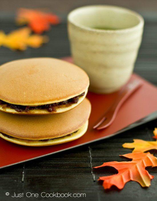 Dorayaki (Japanese Red Bean Pancake) どら焼き   Easy Japanese Recipes at JustOneCookbook.com