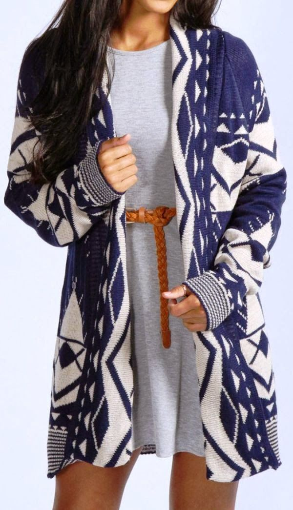 Adorable Aztec Cardigan Fashion Style