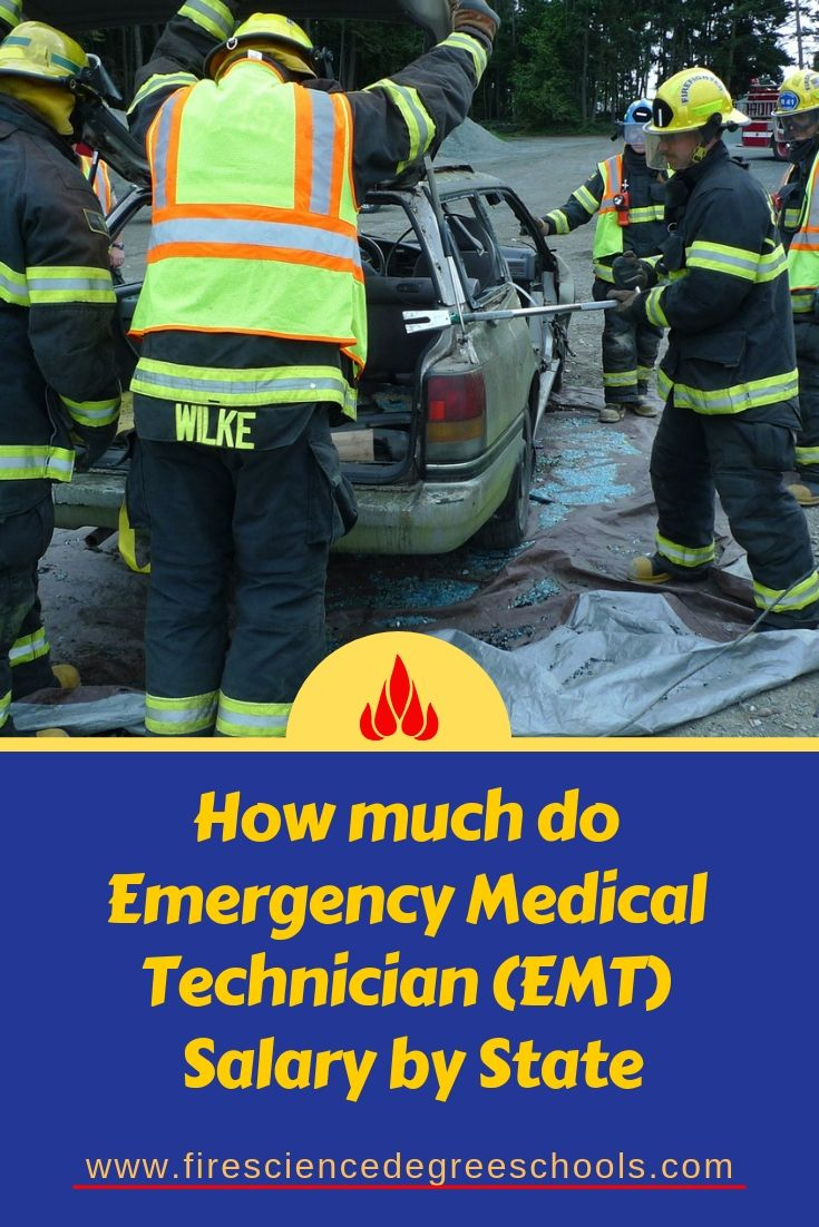 How Much Does An Emt Make >> How Much Does An Emergency Medical Technician Emt Make In The