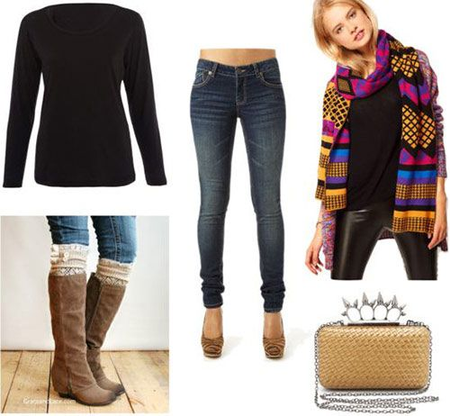 excellent winter college party outfits