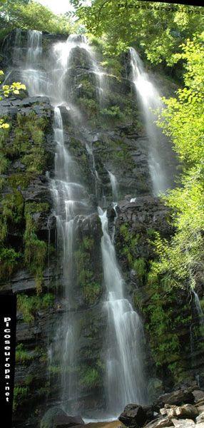 Cascada de Seimeira, Santa Eulalia de Oscos, Asturias, España