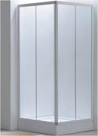 Box doccia cristallo 4 mm – apertura scorrevole su due lati